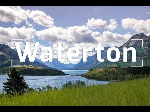 Glacier National Park WITHOUT TOURISTS    Waterton Lakes, Alberta, Canada