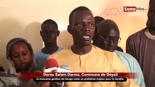 Bassirou DIOP : Darou Salam Darma est une localité qui souffre du vol de bétails