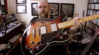 @Fender Squier Starcaster Classic Vibe Review & Demo