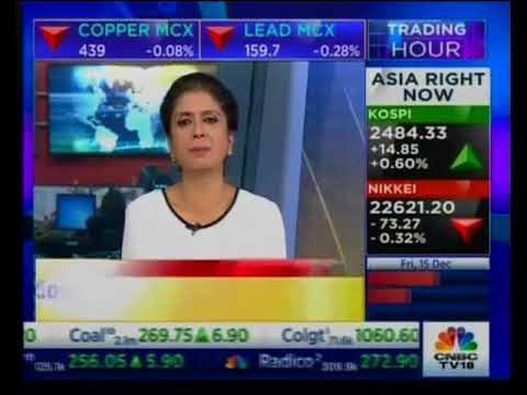 Sell Copper with a target of INR 434- Mr. Prathamesh Mallya, CNBC TV 18, 15th December
