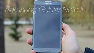 Análisis Samsung Galaxy Note II