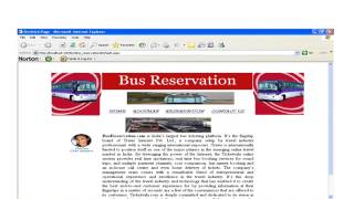 Bust ticket Reservation System Project in PHP