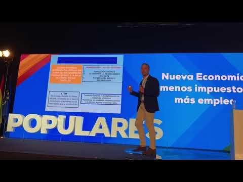 Juan Bravo alienta a los populares a apostar por las posibilidades económicas de las nuevas tecnologías