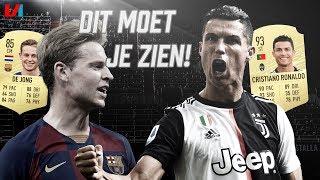 'Het Wordt Puzzelen Met Frenkie De Jong & Cristiano Ronaldo Is Niet Te Stoppen!'