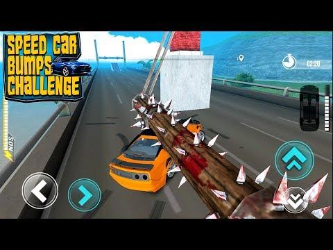 Speed Car Bumps Challenge Deadly Race - Не разбей тачку челлендж машинки гонки прохождение игры #2