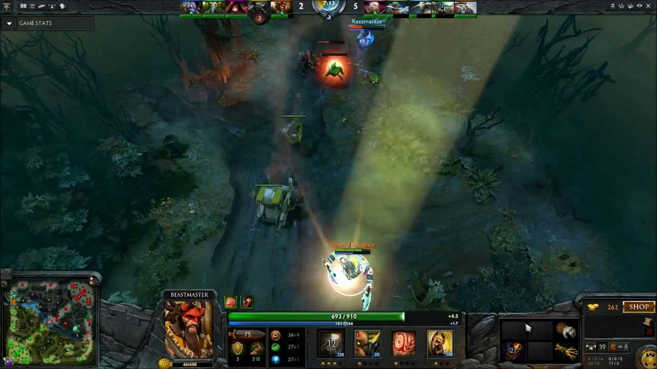 dota 2 an introduction to beastmaster offlane with general