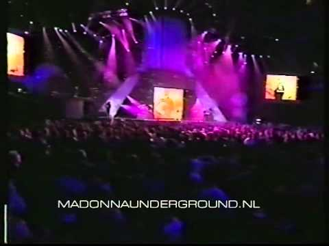 Madonna performs Music live at the European MTV Awards in Sweden + intro by Ali G 2000