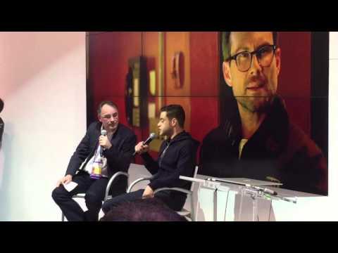 Rami Malek at RSA Conference 2016