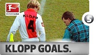 Jrgen Klopp - Top 5 Goals