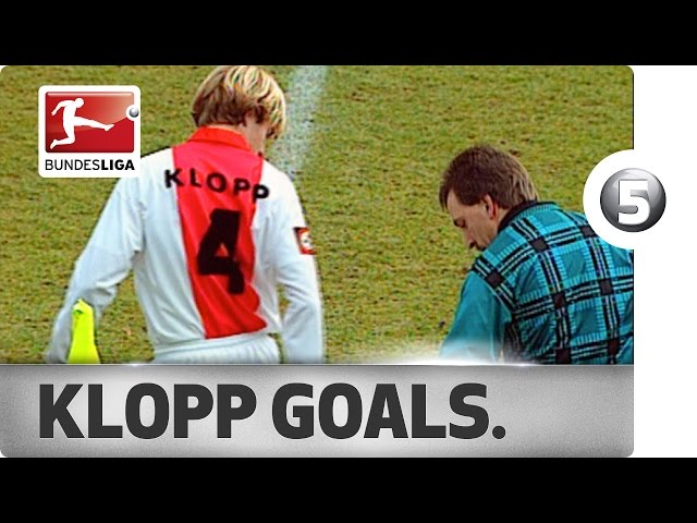 Jürgen Klopp - Top 5 Goals