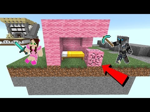 Minecraft: BEDWARS!!! (DESTROY THE BED & DEFEND YOURS!) Mini