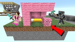 Minecraft: BEDWARS!!! (DESTROY THE BED & DEFEND YOURS!) Mini-Game