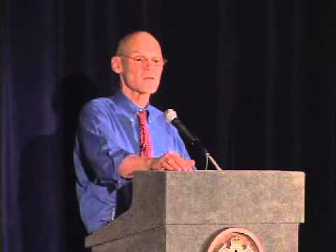 James Carville visits with Hood Hargett Breakfast Club in Charlotte NC