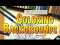 Coloring Backgrounds : First Steps