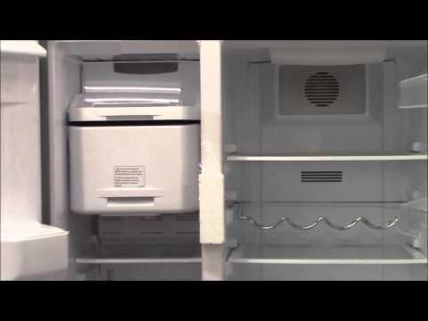 Beko GNEV321APX Eco Smart American Style Fridge Freezer