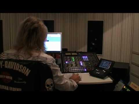 Mastering av nya albumet i Cutting Room, Stockholm
