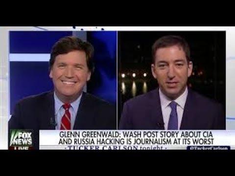 Tucker Carlson & Glen Greenwald Soberly  & Rationally Analyze Events In Syria