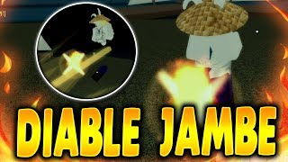 DIABLE JAMBE | Black Leg in Mythical Fruits Online | Roblox One Piece | iBeMaine