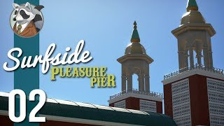 The Grand Ballroom | Surfside Pleasure Pier | Planet Coaster Vintage Pack #2