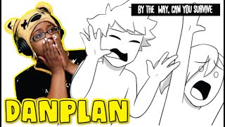 """DanPlan """"By The Way, Can You Survive"""" Storytime Animation AyChristene Reacts"""