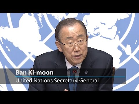 UN chief expresses continued support to peace process in Colombia