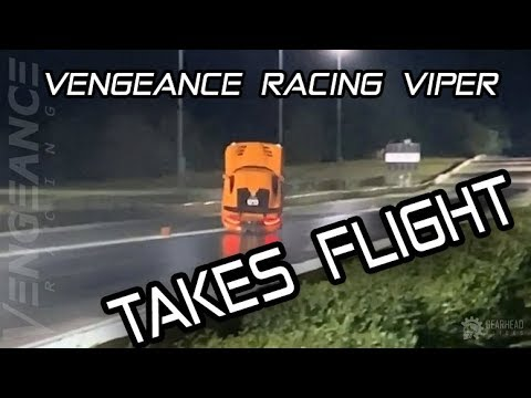 WORLDS QUICKEST & FASTEST Vengeance Racing Viper Takes Flight!