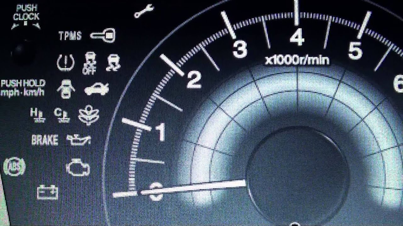 Honda Civic Mk9 Dashboard Warning Lights Symbols What They Mean
