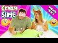 123 CRAZY SLIME ! Reto de Slime Troleo | Marta VS David | Slime Challenge