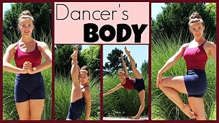 45Min Full Dancer's Body Workout: HIPS/LEGS/CHEST