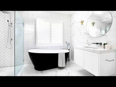 40 White Bathroom Ideas