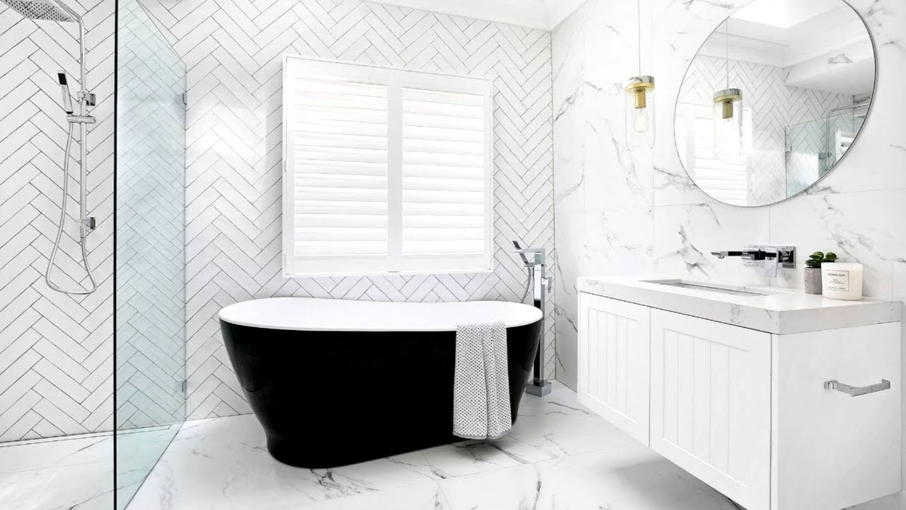 40 White Bathroom Ideas Youtube
