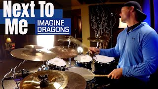 Imagine Dragons - Next To Me Drum Cover Video (High Quality Audio) ⚫⚫⚫