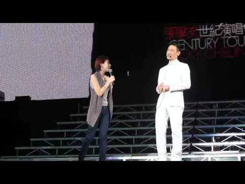 10 Dec 2011 - Jacky is not feeling well - Malaysia Concert