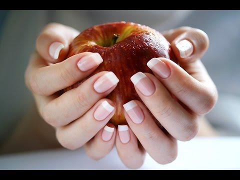 Ногти растут вверх/Как изменить форму ногтя/Как укрепить ногти