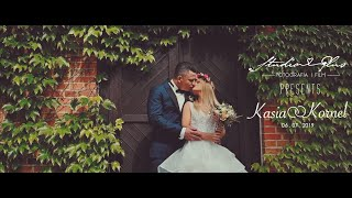 Najpiękniejszy film ślubny | Beautiful Wedding Trailer | Cinematic look |  Kasia & Kornel