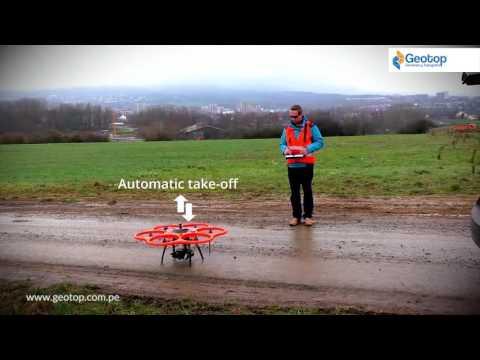 Aibot X6 UAV - Aibotix Leica - GPS - Geotop