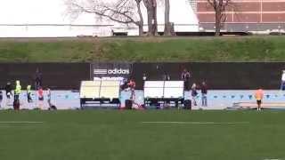 Icahn Stadium 2015 11 & 12 boys 4 x 100m