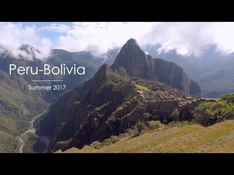 Peru-Bolivia Backpacking Road Trip 2017 GoPro HD