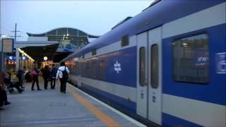 Tel Aviv HaHagana Railway Station Israel - תחנת הרכבת תל אביב ההגנה -רכבת ישראל ישראל באנען - Bahn