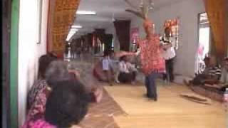 Longhouse (Iban Dau  Tribal Po ai  ngajat  tabuh ajat dance Borneo)