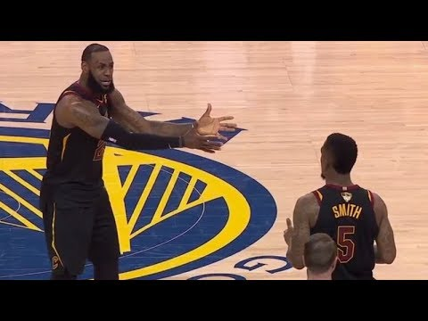 The REASON Why JR Smith Blows (WORST DECISION) Game 1 Vs Golden State Warriors