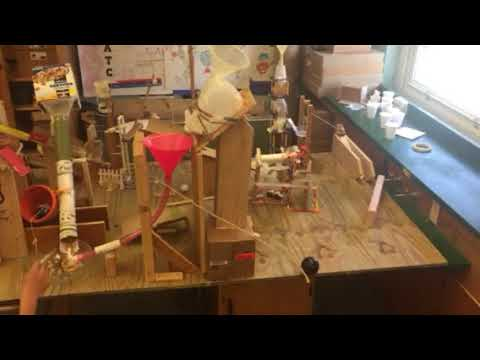 Bergenfield High School Rube Goldberg Machine Run #2