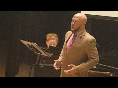 "2017 African American Art Song Alliance Roderick George:Burleigh,""Tide"""