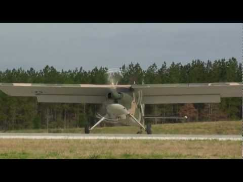 U-10A Helio Super Courier - Short Takeoff and Landing Capability