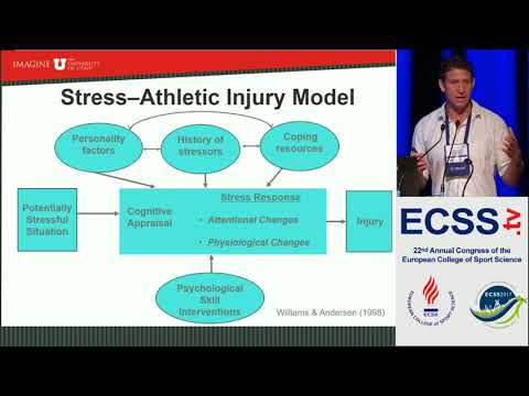 Psychological Predictors of Injuries in Team Sports - Prof Podlog