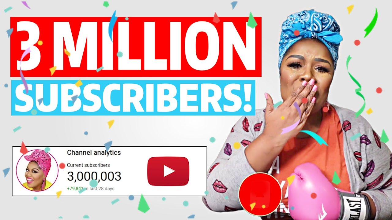 Tearful Vocal Coach Countdown to 3 MILLION Subscribers!