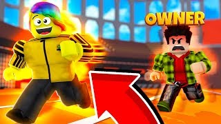 I TOOK the OWNER'S INFINITE SPEED item and he get's MAD! (Roblox Speed City Simulator)