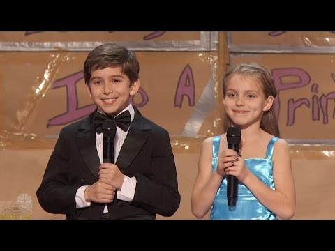 America's Got Talent 2016 Kaden Bart & Brooklyn Rockett 10 Y.O. Magician Full Audition Clip S11E05
