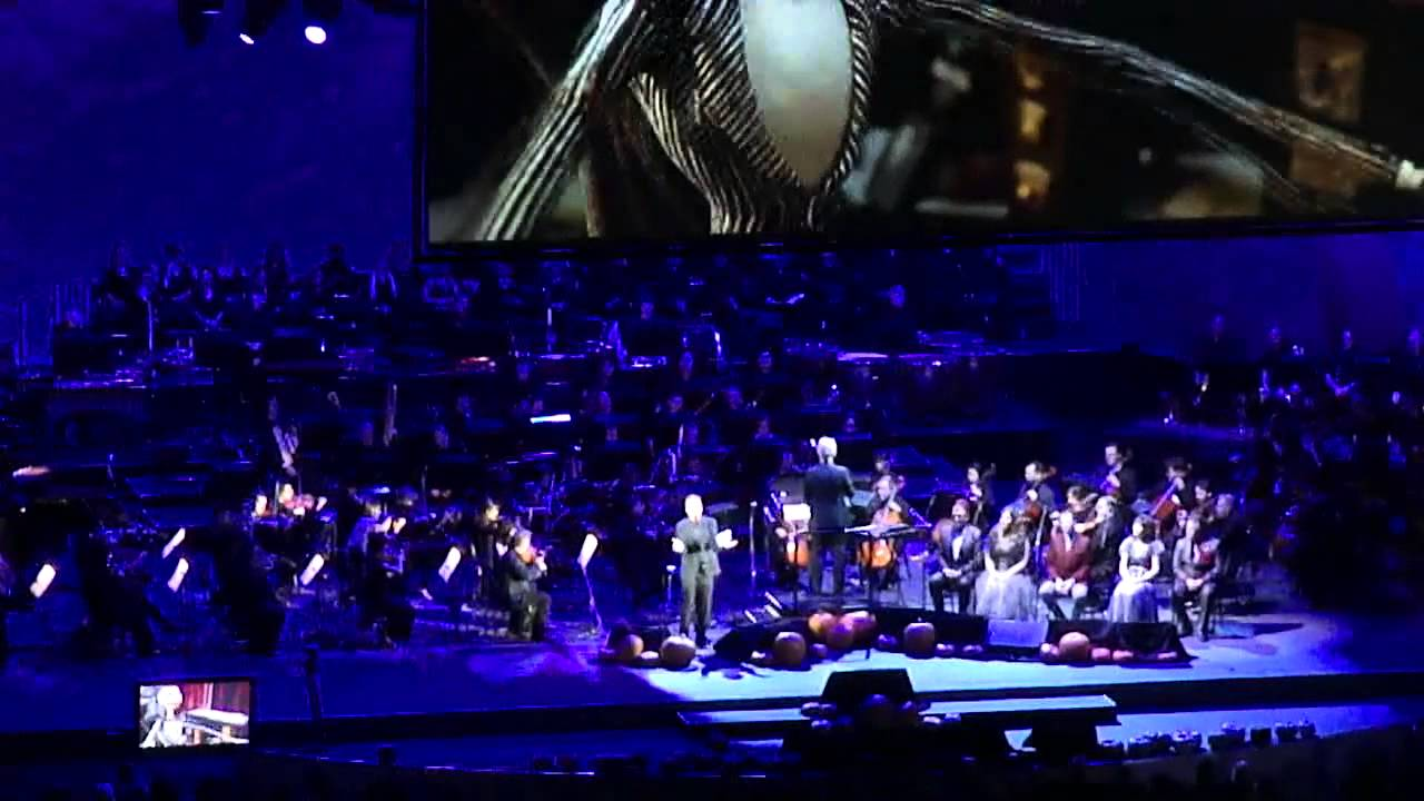 Nightmare Before Christmas Live at the Hollywood Bowl 11.1.15 - YouTube