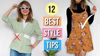 12 Best Styling Tips EVERY Girl Should Know!